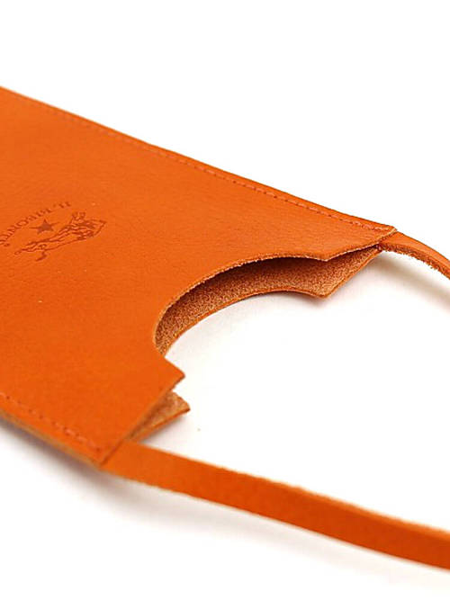 IL BISONTE (ilbizonte) 皮革 iPhone/iPod 移动案例-5402300595-0061501
