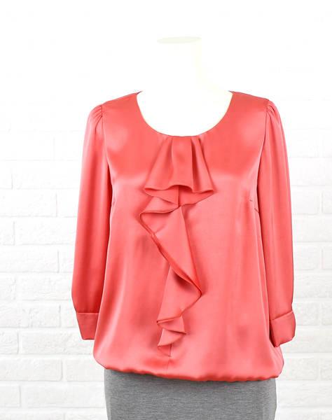 【40%OFF】Dress apt.(ドレスアプト)ポリエステル フリル ギャザー ブラウス・16071-1991501【レディース】