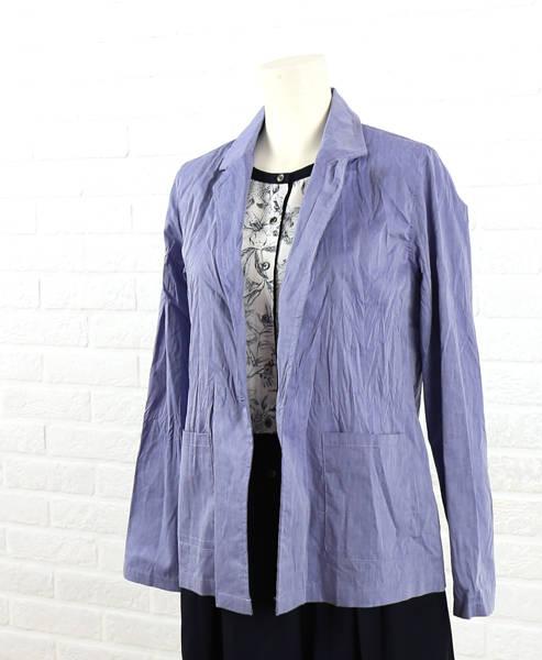 le chanter(ルシャンテ)綿ポリエステル テーラード シャツジャケット・520210-2061501【レディース】