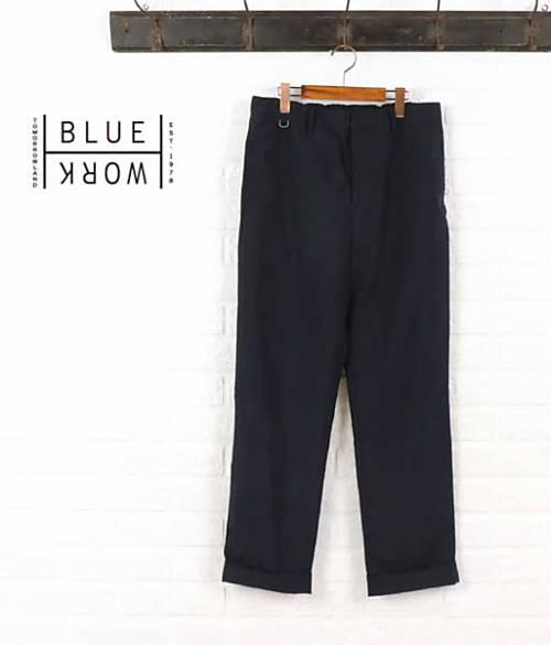 Blue Work(ブルーワーク)ポリエステルレーヨン パンツ・54-04-62-04101-0171601【メンズ】
