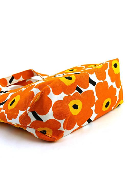 """""""迷你 UNIKKO 纯美""""UNIKKO 的 Marimekko (Marimekko) 棉帆布手提袋-52163643825-0061601"""
