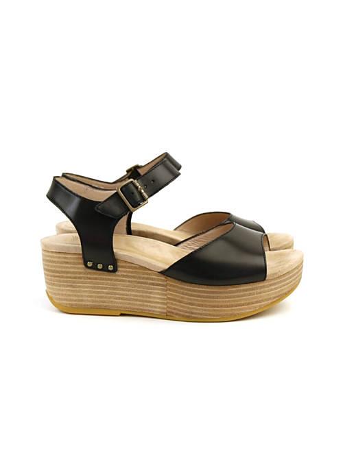 2c74ccd0faea February  dansko (ダンスコ) leather wedge sole opening toe sandals ...
