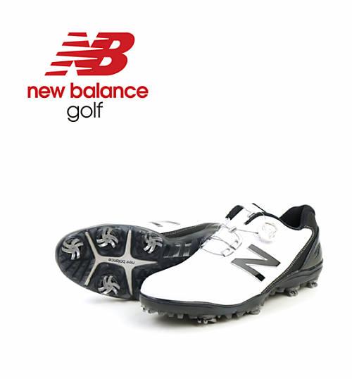 new balance(ニューバランス) メンズ 防水 ダイヤル式 ゴルフシューズ スパイク MG1000・MG1000-4061702【メンズ】【D-3】