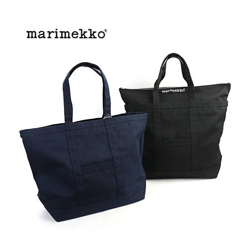 marimekko(マリメッコ)コットンキャンバス ビッグ トートバッグ CANVAS BAG MATKURI・52179240865-0061702【メンズ】【レディース】【last_1】