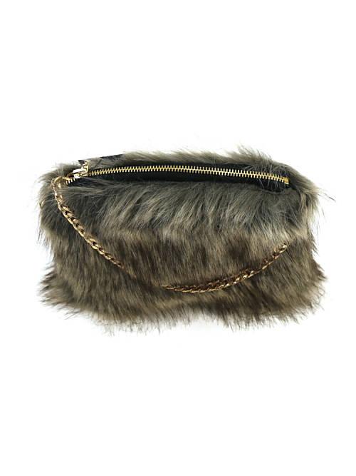 794cdd1020 February  helen moore (Helen Moore) fake fur 2WAY shoulder bag ...