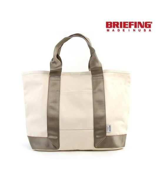 BRIEFING(ブリーフィング)キャンバス トートバッグ L・BRL444219-2771701【メンズ】【レディース】【JP】