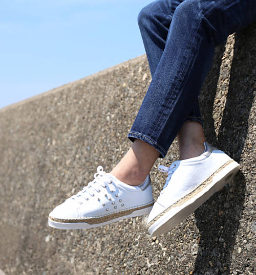 f12eab5ab30fa February  Low-frequency cut sneakers BASKET ESPADRILLE LANCRY STUDS ...