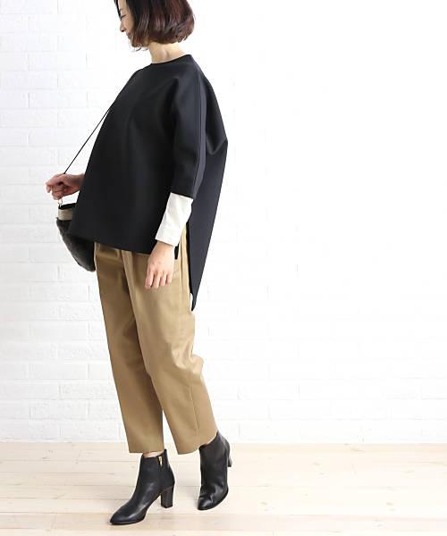 RIM.ARK(リムアーク) 2WAY レイヤードシャツ ワイド ブラウス トップス・460BAL30-0330-4201802【レディース】【■■】