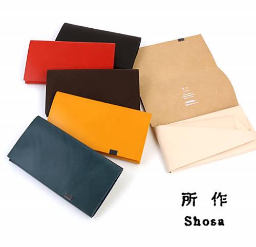 所作/Shosa(しょさ)Basic レザー 三つ折り 長財布 ロングウォレット ・SHO-LO1A-4181902【メンズ】【レディース】