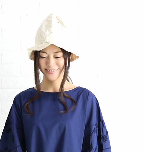 (g) Gauze# Basic Line(グラム)LASSO コットン トールハット 帽子・g068-3541801【レディース】【JP】