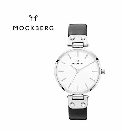MOCKBERG(モックバーグ)レザーベルト ラウンド 腕時計 レディースウォッチ ASTRID 34mm・MO1002-3171801【レディース】【1F-W】