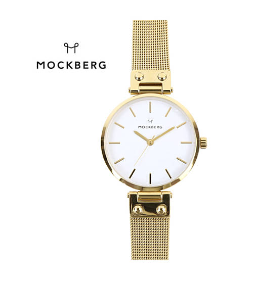 MOCKBERG(モックバーグ)メッシュベルト ラウンド 腕時計 レディースウォッチ LIVIA 34mm・MO1601-3171801【レディース】【1F-W】