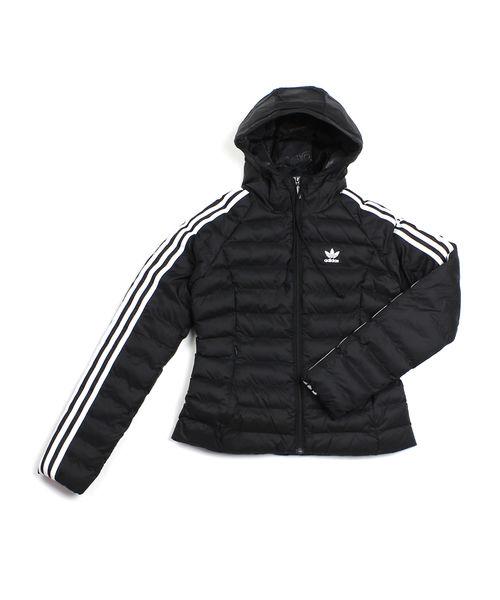 【お買い物するだけ20倍】adidas(アディダス)オリジナルス パディング中綿 フード付き パデッドジャケット スリムジャケット ORIW SLIM JACKET・FZH17-0121902【レディース】【■■】