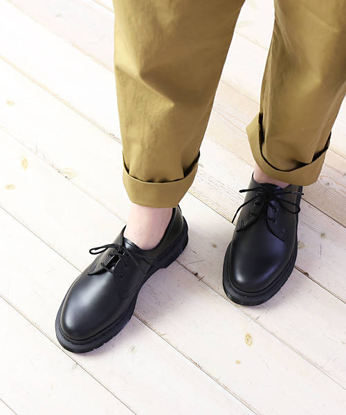 Dr.Martens (doctor Martin) smooth leather monotone race up 3 eye shoes 3  hall shoes 1461 Mono smooth e65950674d8