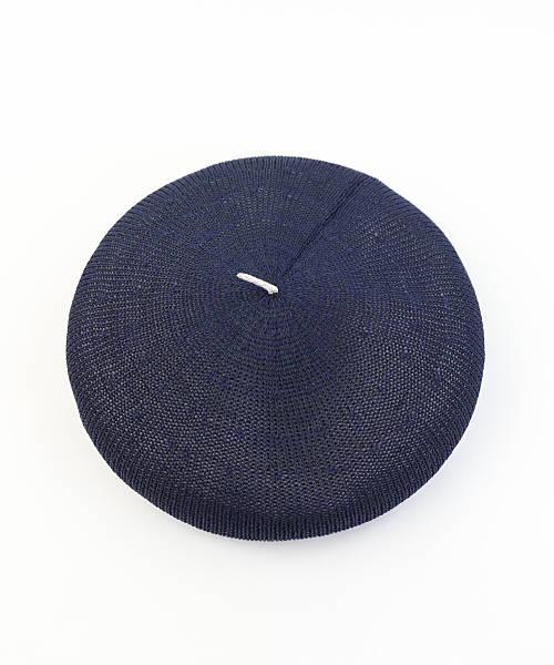 お買い物するだけ10倍French Bull フレンチブル コットン×美濃和紙ベレー帽 帽子 シーガルベレー・38 02191 1851901 レディースJP5R43jAcqL
