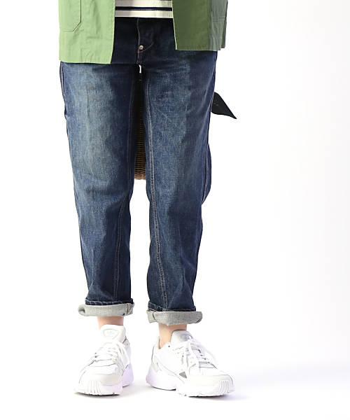 adidas(アディダス)オリジナルス メッシュ×スエード スニーカー ダッドシューズ ランニングシューズ FALCON W ファルコン・B28128-0122001【レディース】【■■】