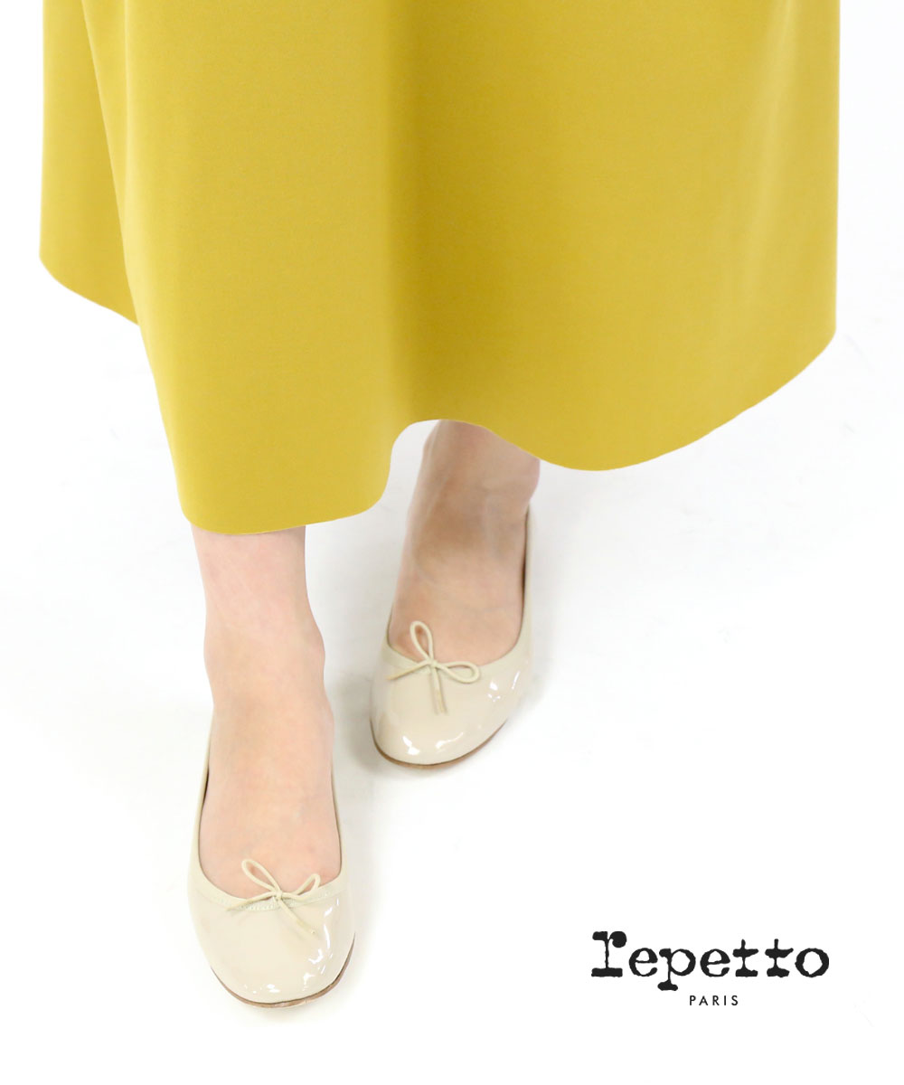 repetto(レペット)パテントレザー エナメル バレエシューズ サンドリオン サンドリヨン Cendrillon Ballerina・VX086V-20SS-0062001【レディース】【■■】
