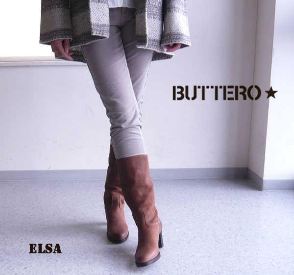 【30%OFF】【ブッテロ BUTTERO】ELSA・B3600【シューズ】【50】X【A-2】
