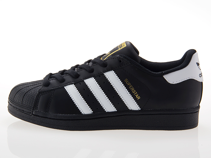 Adidas Superstar Svart Og Gull Kvinner 7I8k279lk