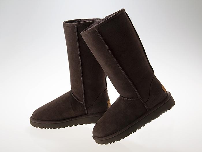 アグ UGG WOMENS CLASSIC TALL II BOOTS ウィメンズ クラシック トール 2 ブーツ レディース ムートン シープスキン CHOCOLATE チョコレート #1016224-cho