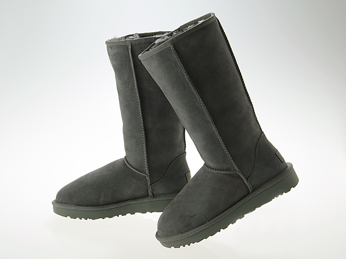 アグ UGG WOMENS CLASSIC TALL II BOOTS ウィメンズ クラシック トール 2 ブーツ レディース ムートン シープスキン GREY グレー #1016224-grey