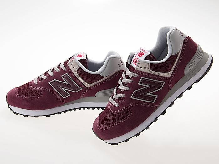 sports shoes b3ba0 ddf5d New Balance NEW BALANCE ML574EGB men size BURGUNDY bar Gandhi Wise D