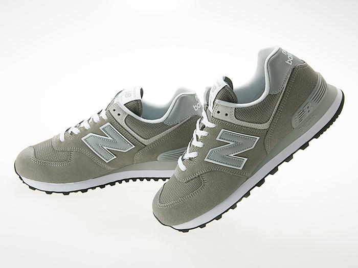 buy popular b4d70 0ec32 New Balance NEW BALANCE ML574EGG men size GRAY gray Wise D