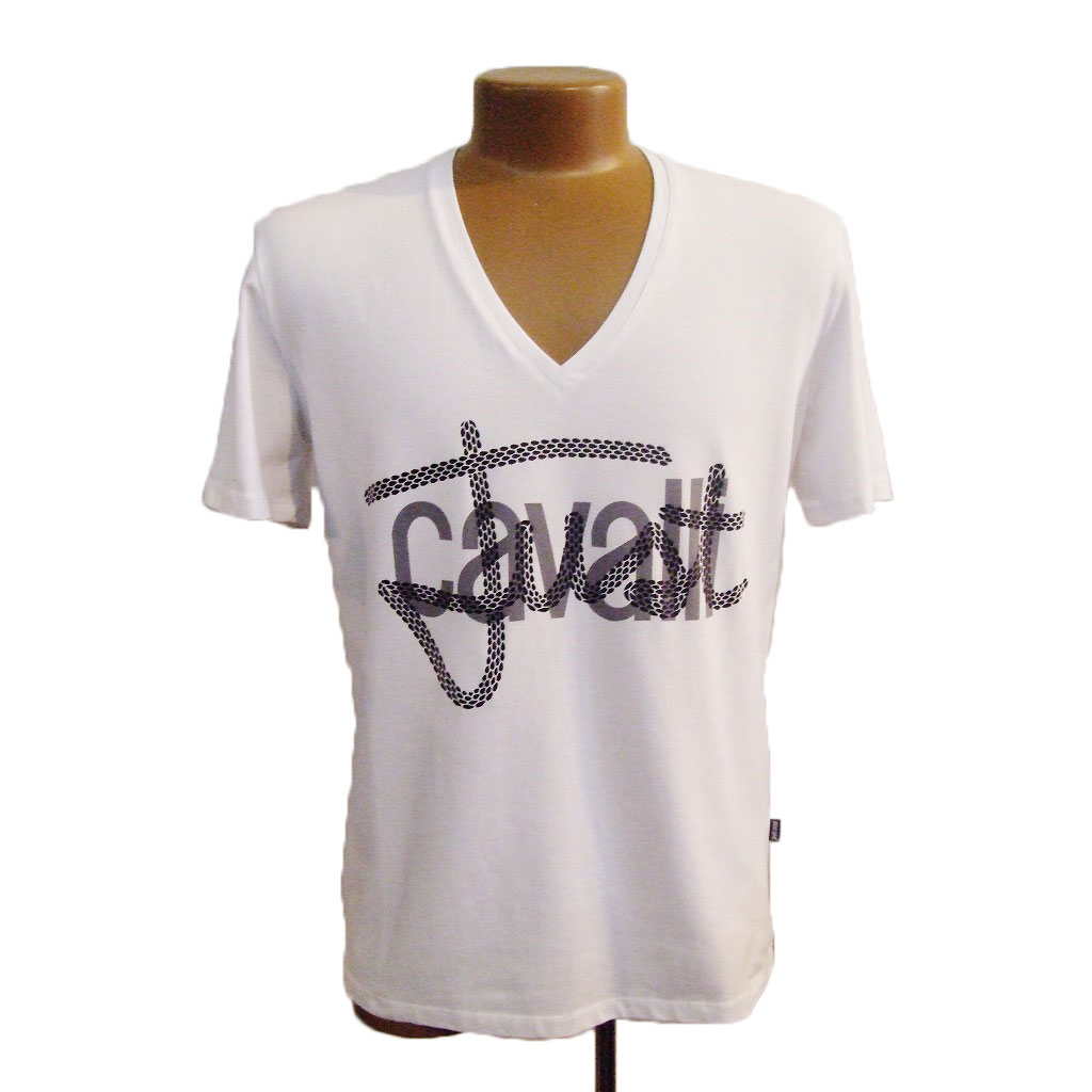 *[JUST CAVALLI]* MEN'S T-SHIRT ジャストカヴァリ メンズ T シャツ