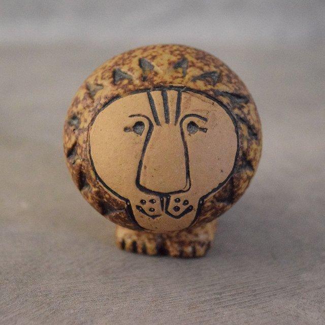 60's LisaLarson LION mini 60年代 リサ・ラーソン ライオン 陶器 置物 インテリア 雑貨 【古着】 【ヴィンテージ】 【中古】 【メンズ店】