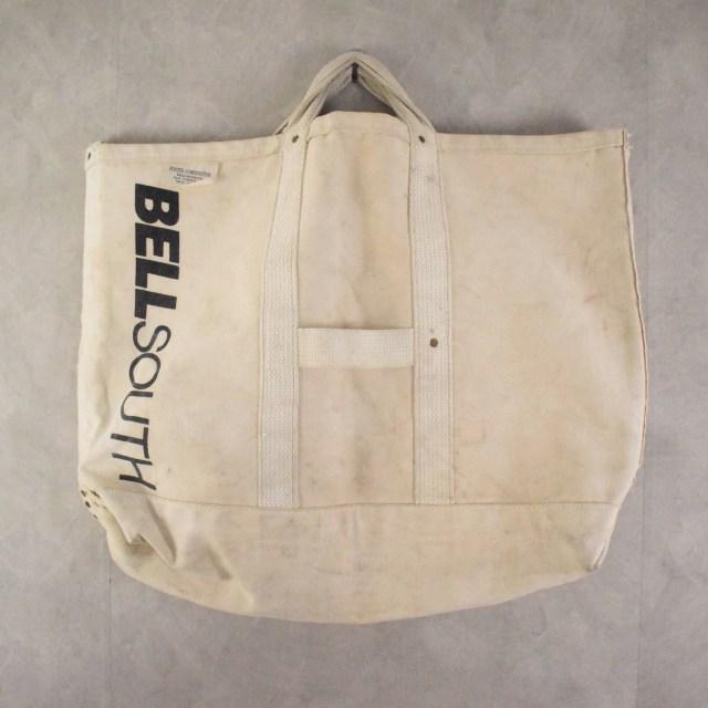 USA製 BELL SOUTH Canvas hand bag キャンバス ハンドバッグ 鞄  【古着】 【ヴィンテージ】 【中古】 【メンズ店】