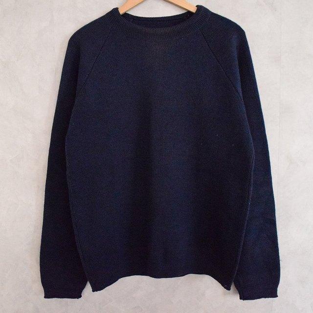 VINTAGE Knit Sweater Navy ニット セーター ネイビー 紺 【古着】 【ヴィンテージ】 【中古】 【メンズ】