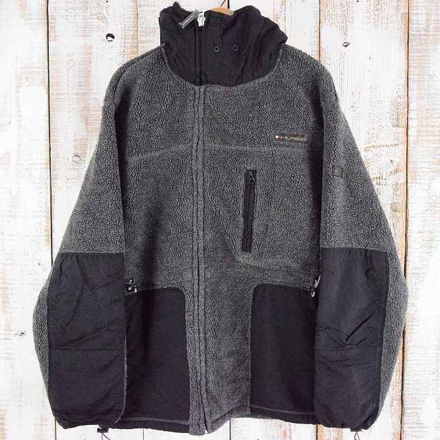 TOMMY HILFIGER 切り替えフリースジャケット XL トミーヒルフィガー 【古着】 【ヴィンテージ】 【中古】 【メンズ】