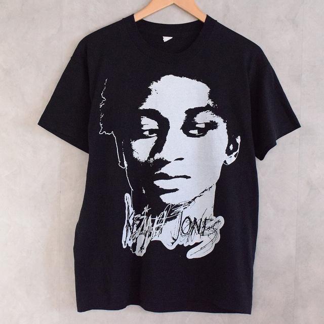 90's KEZIAH JONES Funk Musician T-shirt 90年代 キザイア・ジョーンズ ファンク ブルーファンク ミュージシャン ミュージック 音楽 アーティスト 【古着】 【ヴィンテージ】 【中古】 【メンズ店】
