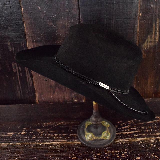 60~70's STETSON 4X ビーバーハット 60年代 70年代 ステットソン 帽子 【古着】 【ヴィンテージ】 【中古】 【メンズ店】