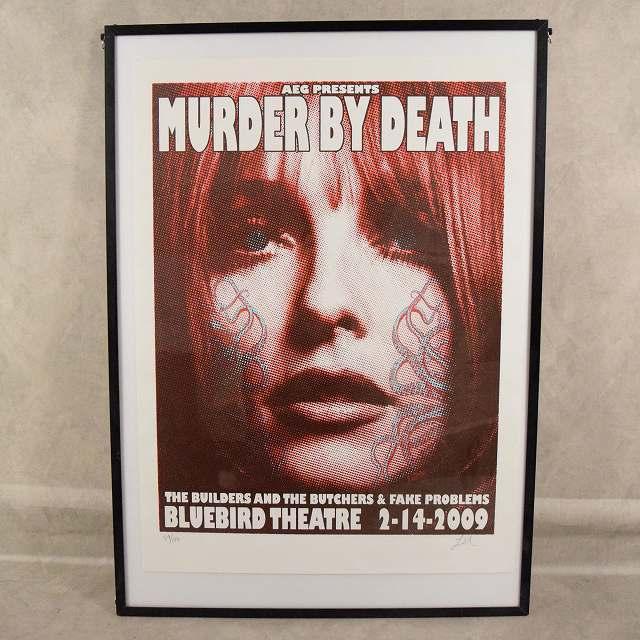 MURDER BY DEATH Poster ポスター インテリア 雑貨 【古着】 【ヴィンテージ】 【中古】 【メンズ店】