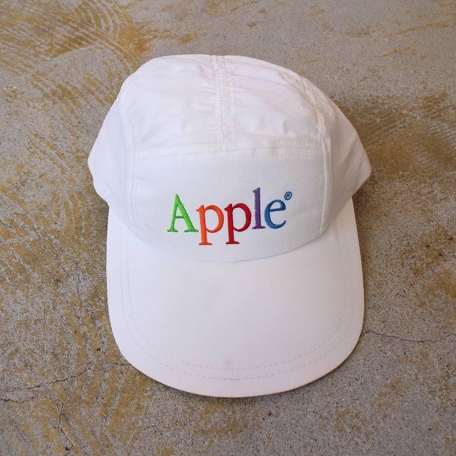 Apple USA製 ロゴ刺繍キャップ 帽子 アップル 企業 Technology 【古着】 【ヴィンテージ】 【中古】 【メンズ店】