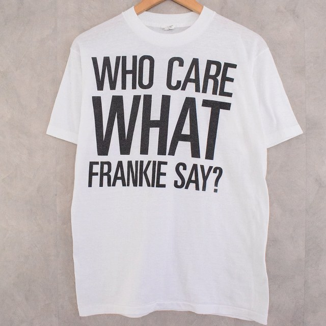 80's Frankie Goes To Hollywood USA製 Rock Band T-shirt L フランキー・ゴーズ・トゥ・ハリウッド 80年代 アメリカ製 ロックバンド バンT ミュージック 音楽 Tシャツ 【古着】 【ヴィンテージ】 【中古】 【メンズ店】