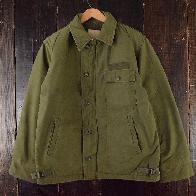 80's USN A-2 デッキジャケット 80年代 ミリタリー アメリカ軍 米軍  【古着】 【ヴィンテージ】 【中古】 【メンズ店】