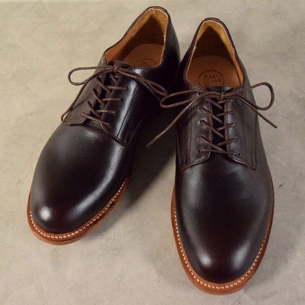 2120 Handcrafted Leather Shoes size8.5 箱付き ハンドクラフト レザーシューズ 革靴 ブラウン  【古着】 【ヴィンテージ】 【中古】 【メンズ】