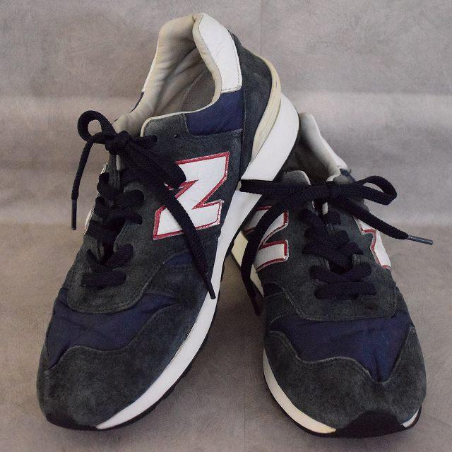 New Balance 670 ENGLAND製 Sneakers 10 ニューバランス イングランド製 スニーカー 靴 【古着】 【ヴィンテージ】 【中古】 【メンズ店】