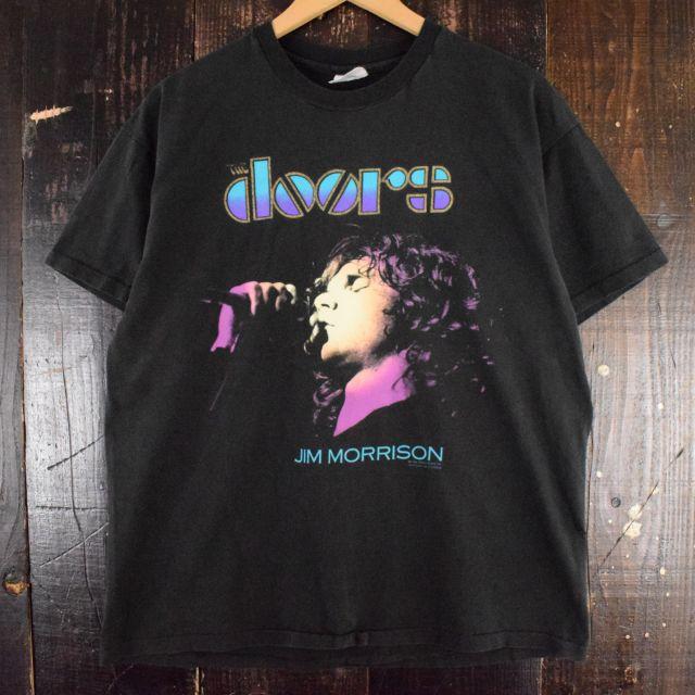 90's The Doors USA製 ロックバンドTシャツ XL 90年代 ドアーズ バンT ミュージック 音楽 【古着】 【ヴィンテージ】 【中古】 【メンズ店】