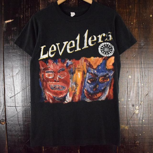 90's Levellers フォークパンクバンドTシャツ バンT レヴェラーズ 音楽 ミュージック  【古着】 【ヴィンテージ】 【中古】 【メンズ店】