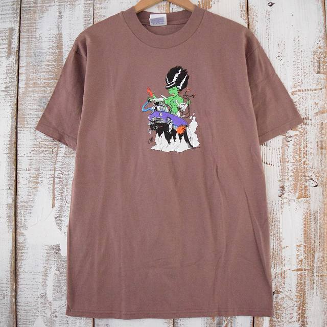 90's COOP USA製 エロプリントTシャツ 90年代 アメリカ製 イラスト COOP 【古着】 【ヴィンテージ】 【中古】 【メンズ】