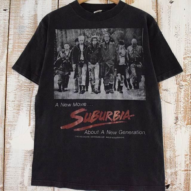 90's Mosquitohead SUBURBIA USA製 punk movie T-shirt 90年代 モスキートヘッド サバ―ビア 映画 ムービー アメリカ製 【古着】 【ヴィンテージ】 【中古】 【メンズ】