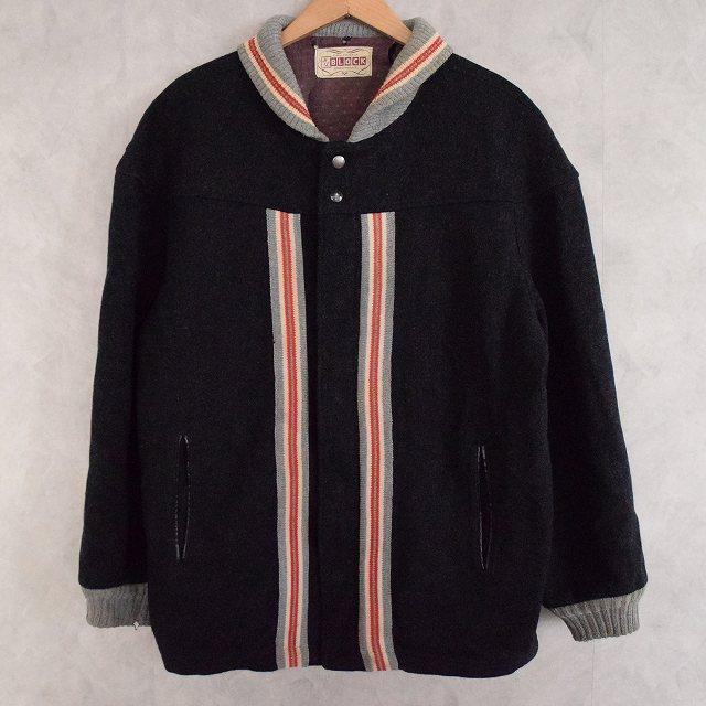 50's H&L BLOCK Wool Pharaoh Jacket 50年代 ファラオジャケット カーコート ウール  【古着】 【ヴィンテージ】 【中古】 【メンズ】