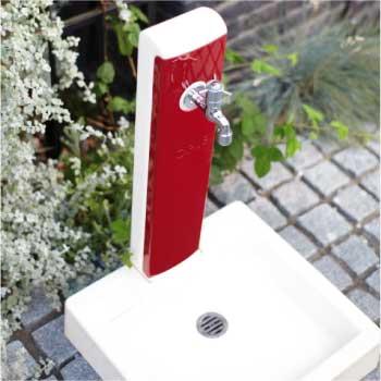 立水栓・水栓柱:ヴォーグ(パン/蛇口付)[W-494]【fsp2124-6f】【あす楽対応不可】【全品送料無料】