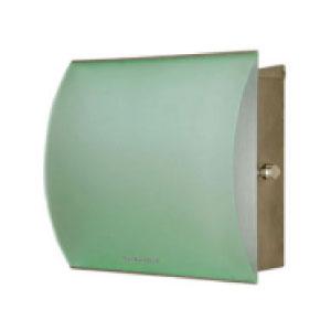 郵便ポスト:ドイツ製マックスノブロック・壁掛型ポスト・ミラノ-グリーン[P-327]【fsp2124-6f】【あす楽対応不可】