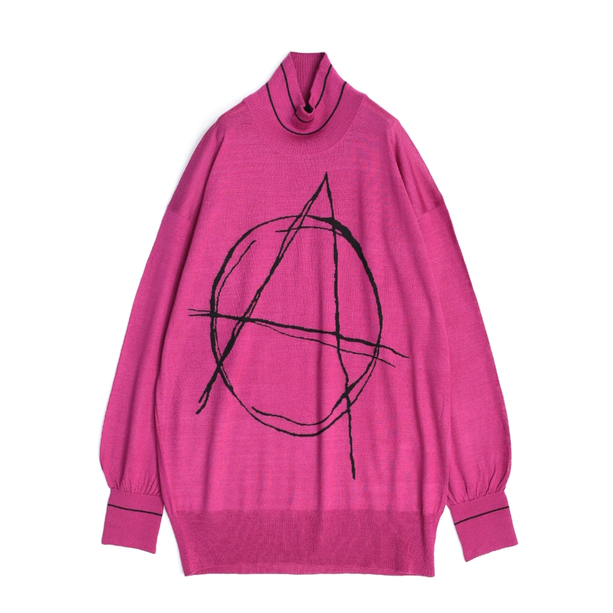 SALE 50%OFF SHAREEF 低価格化 INTERSIA JQ HIGH-NECK P O 2色 Pink Amethyst プルオーバー メンズ ジャガード 17714021 送料無料 最安値に挑戦 セーター ハイネック シャリーフ インターシャ ニット