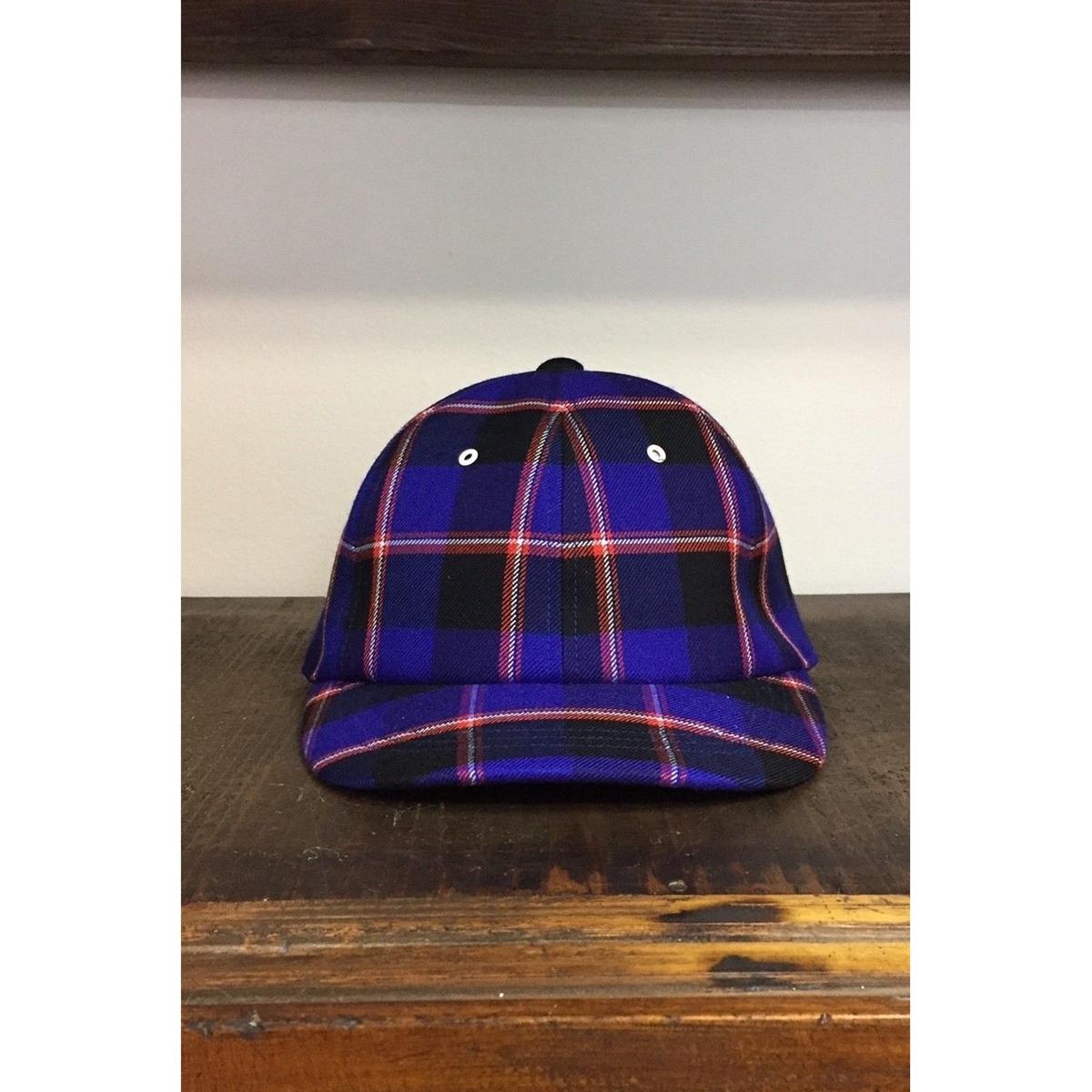 UNITUS Maasai Check Cap (Blue Check) UTSFW18-A02 ユナイタス マサイチェック キャップ チェック メンズ 送料無料
