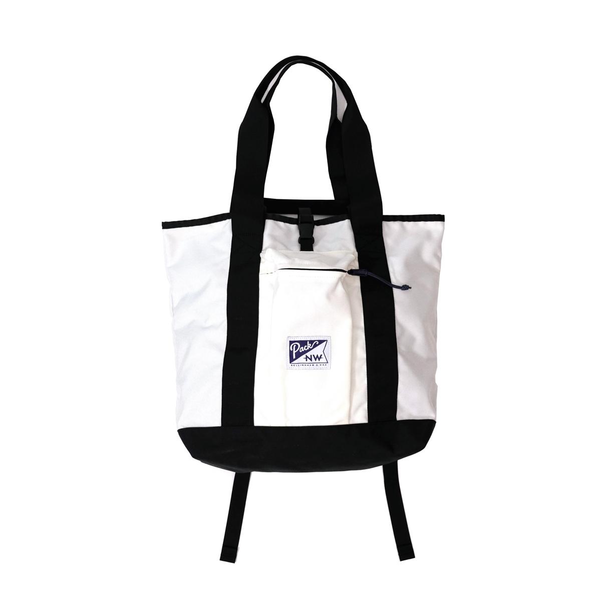 Pack NW Large Hobo Tote (8色) 513-63002 パックノースウエスト ホボトート 3way バックパック メッセンジャー トート コーデュラ ユニセックス 男女兼用 バッグ アメリカ 送料無料